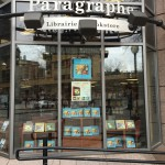 Paragraphe Montreal - Nick Bantock window display